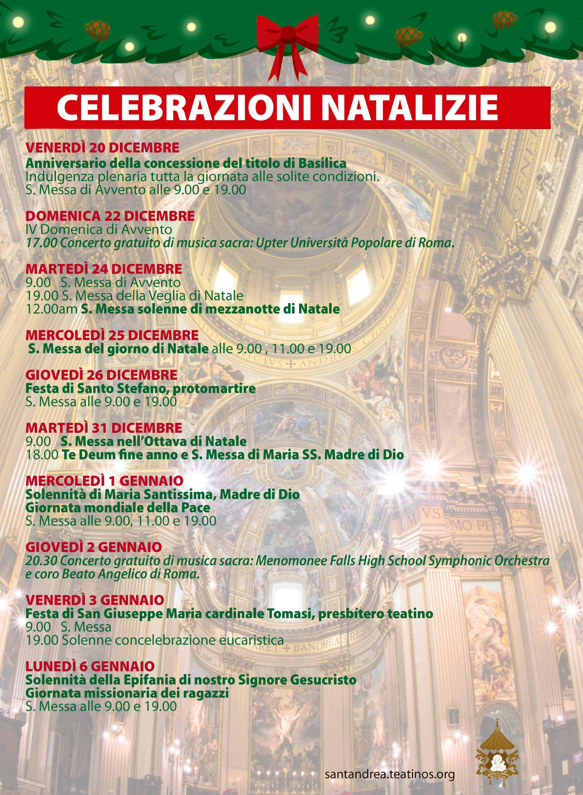 Celebrazioni Natalizie (2019)